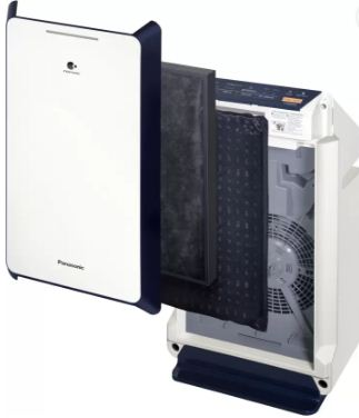 Panasonic F-PXM55A Air Purifier -Split view