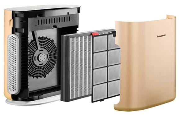 Honeywell Air Touch A5 Air Purifier Review filters
