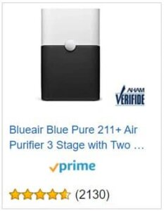 Blue Pure 211+ Price