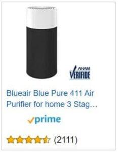 Blue Pure 411 Price