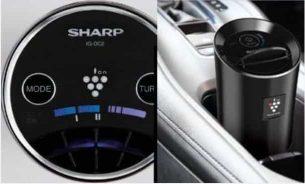 sharp car air purifier turbo mode