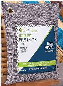Breathe Green Bamboo Charcoal bags