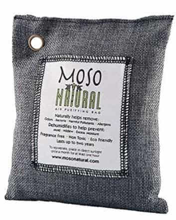 Moso Bamboo Charcoal bags Natural Air Purifier