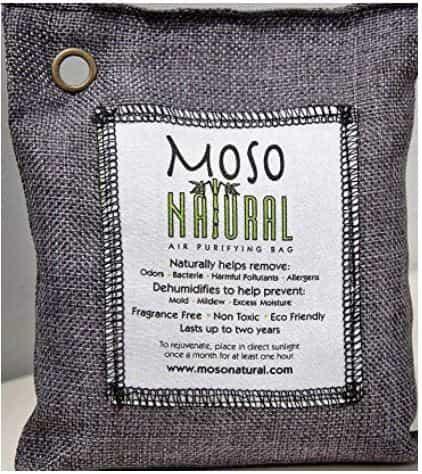 Moso Bamboo Charcoal bags Natural Air Purifier