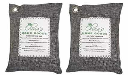 Olivia and Aiden Activated charcoal bags