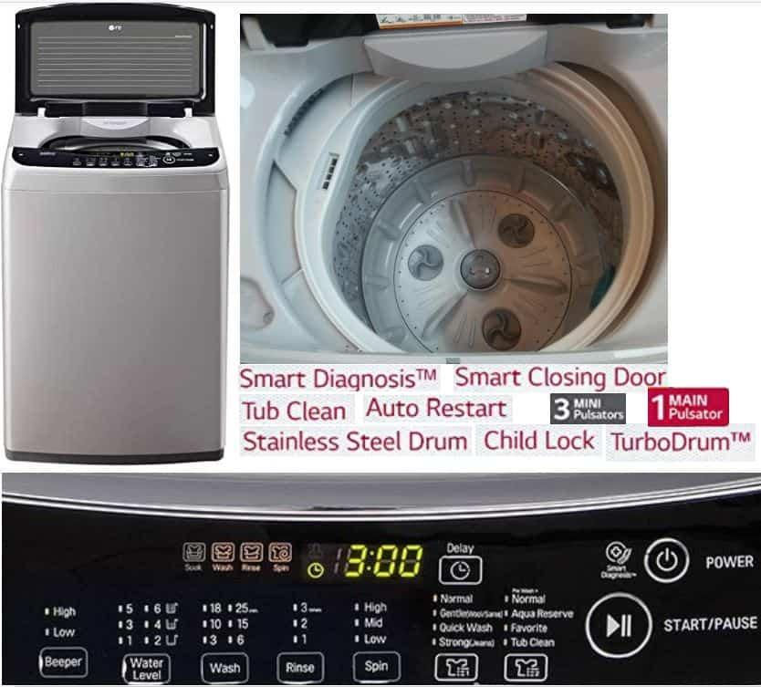 LG Best Washing Machine India