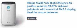 Philips AC2887 Air Purifier Amazon