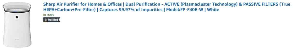 Best Air Purifier in india under 10000