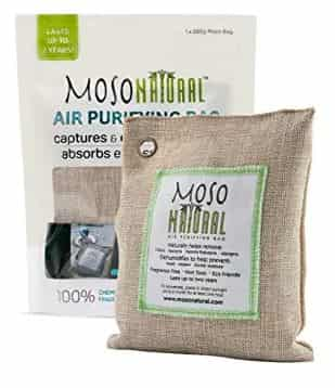 Moso charcoal bag natural best toilet freshener in india