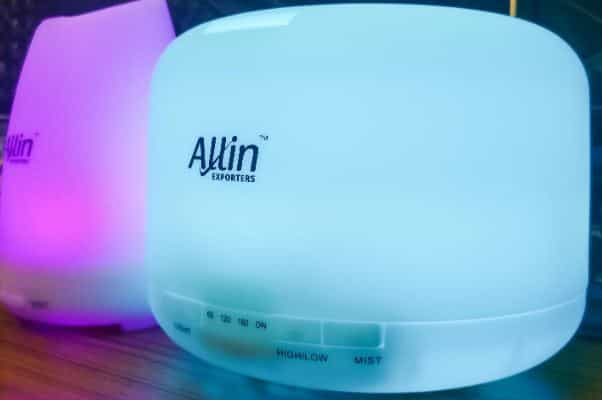 Allin Exporter cool mist humidifier and essential oil diffuser-min