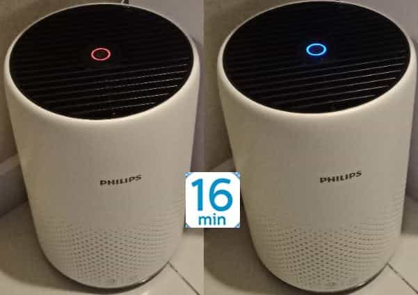 Philips AC0820 air purifier color LED
