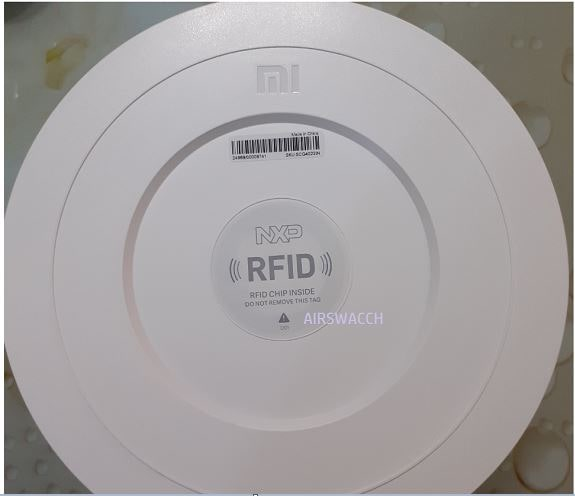 MI air purifier RFID