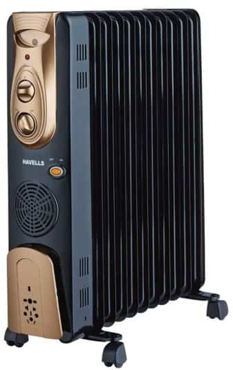 Havells Oil Heater the Best room heater in India
