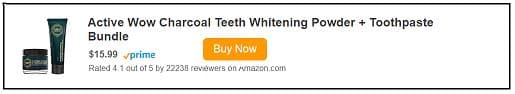 Best activated charcoal for teeth whitening