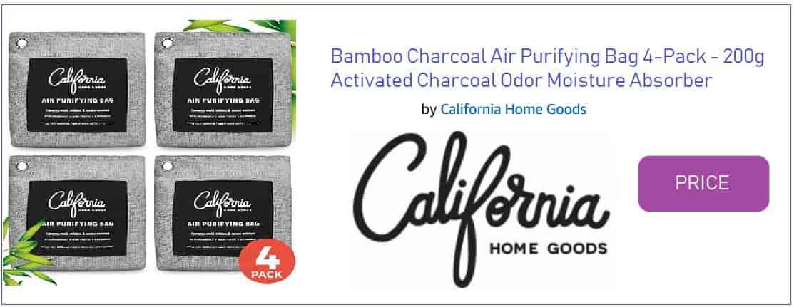 Nature Fresh Bamboo Charcoal Bags California Home Goods