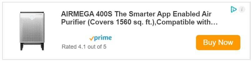 Coway AirMega 400S Price