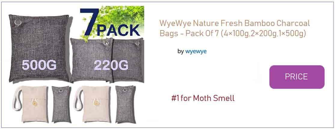 WyeWye Nature Fresh Bamboo Charcoal Bags