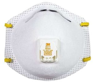 3M 8511 N95 vs P95 Pollution Mask