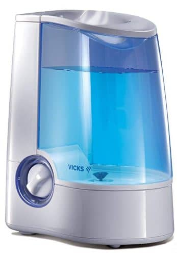 Best Humidifier For Newborn since its a warm mist type for extra safety against bacteria