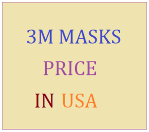 3M Mask Price in USA