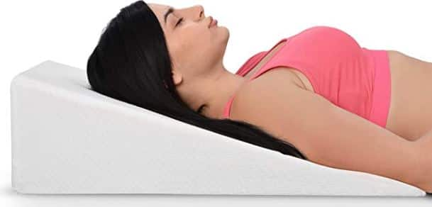 Bed wedge Snoring solution