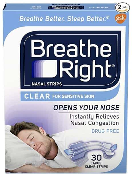 Breathe Right Nasal strips Do anti snoring devices work