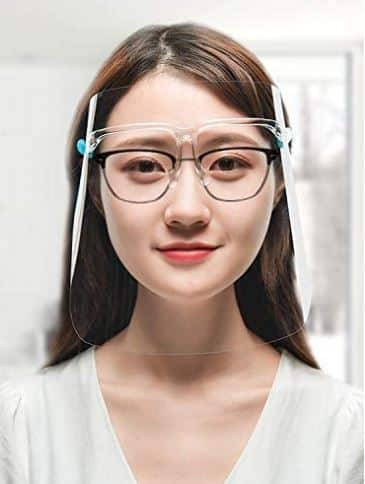 AVJONE Safety Face Visor With Goggles