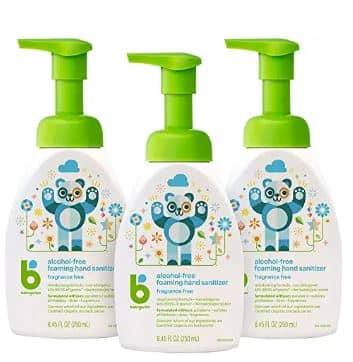 Babyganics Foam based Best hand sanitizer for baby