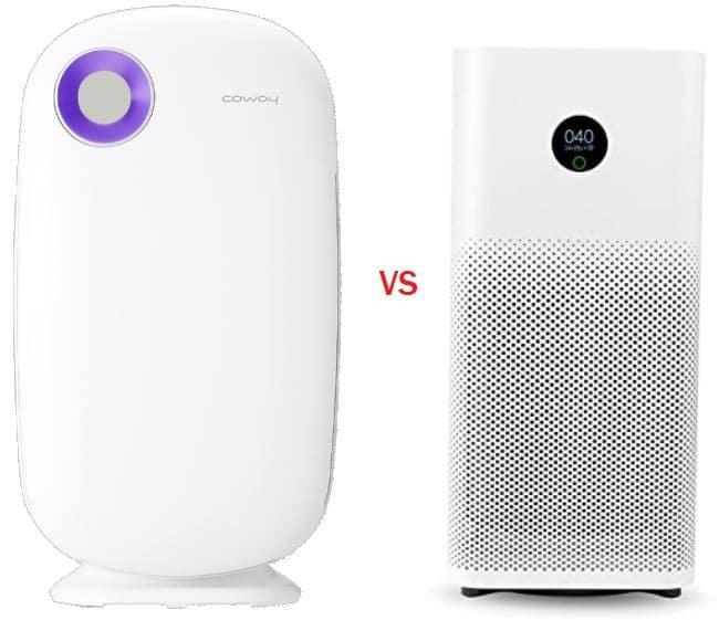 Coway Sleek Pro vs MI air purifier