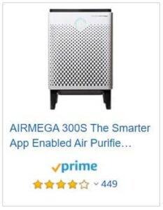 Coway airmega 300S Price