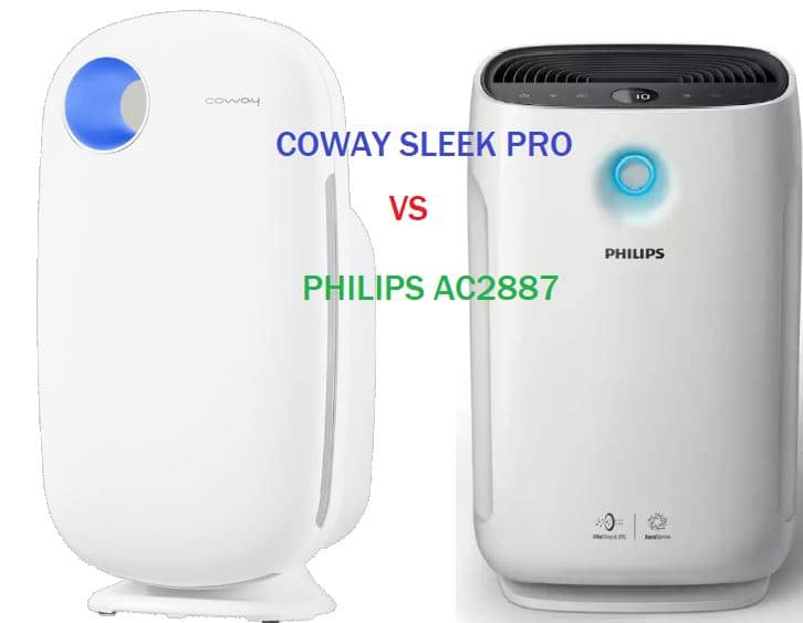 Compare Coway vs Philips air purifier