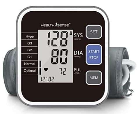 HealthSense Best blood pressure monitor in India