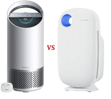 Coway vs TruSens Z2000 air purifier