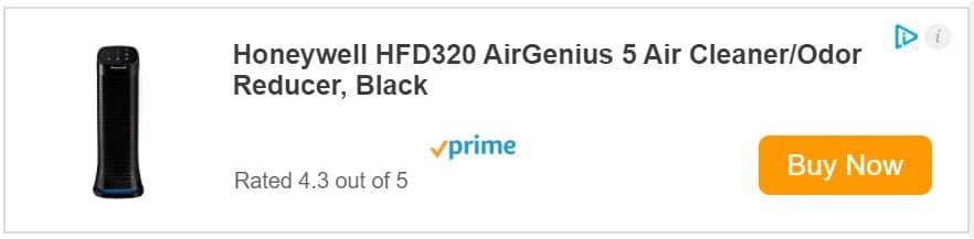 Honeywell AirGenius 5 HFD320 Price