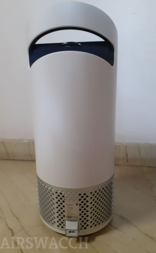 TruSens Air Purifier Backside