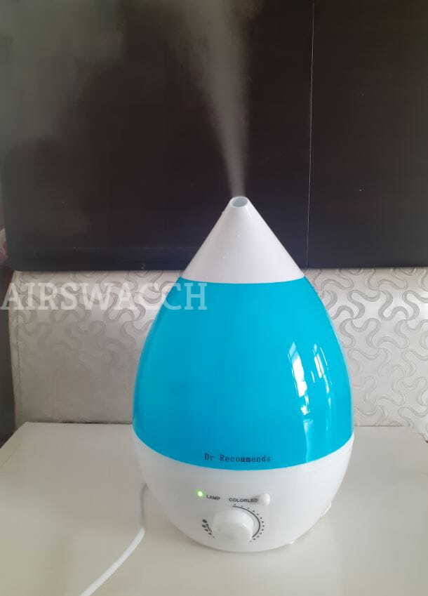Mist Output of Dr recommends humidifier